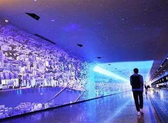 时空隧道体验空间设计实际案例